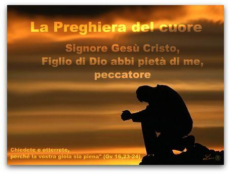 In cammino con san benedetto la preghiera del cuore - Stampabile la preghiera del signore ...