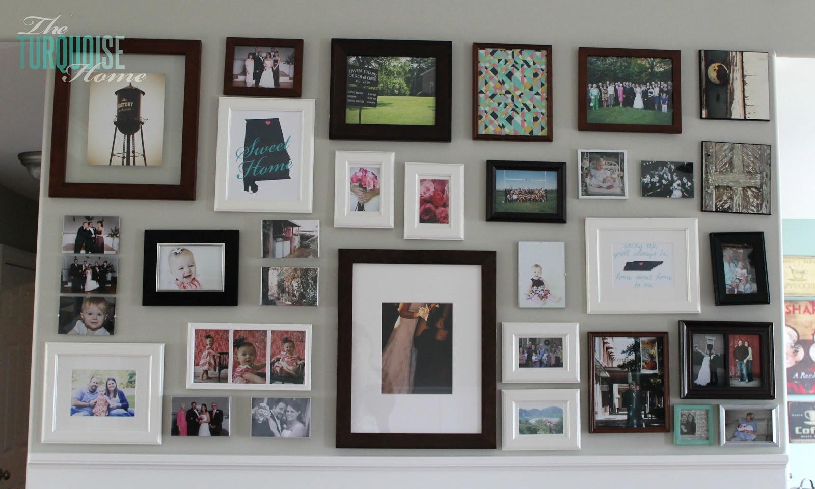 Living room makeover part 5 gallery wall the for How to makeover your living room
