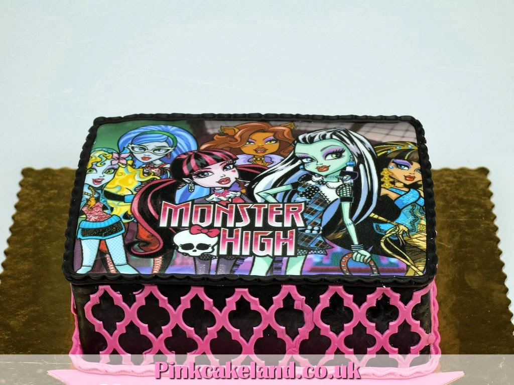 Monster High Photo Cake, London