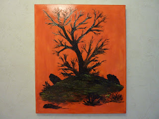 Une toile d'Eric Taboureau