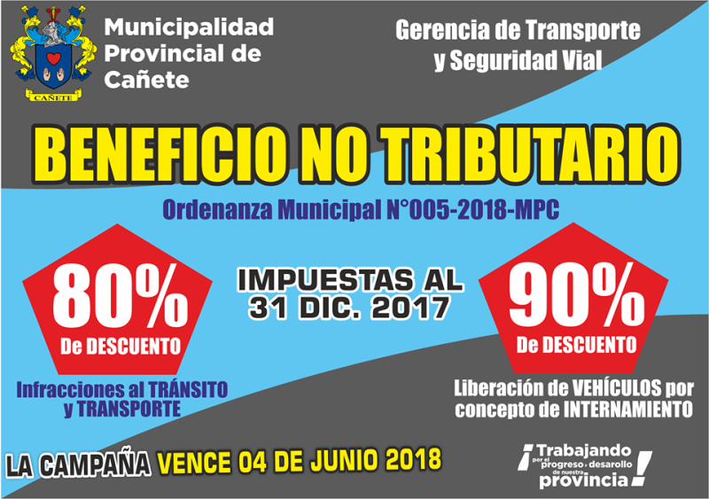 BENEFICIO NO TRIBUTARIO