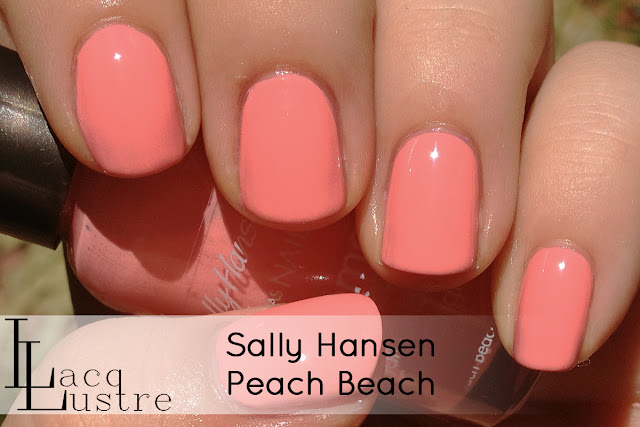 Sally Hansen Peach Beach swatch