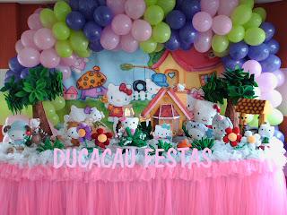 Fiestas Infantiles Hello Kitty, parte 2