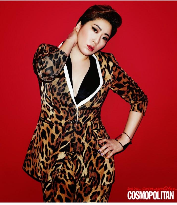Shin Bora Kin Young Hee - Cosmopolitan Magazine December Issue 2014