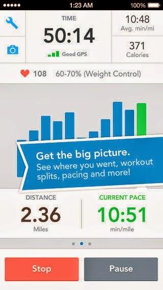 تحميل وشرح تطبيق مدرب اللياقة البدنية للأندرويد والايفون والايباد مجاناً RunKeeper - GPS Track Run Walk-iOS-APK 4.3
