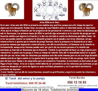 Horoscopo para Aries 2016