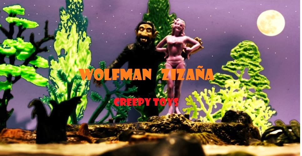 WOLFMAN ZIZAÑA - JUGUETES CREEPY