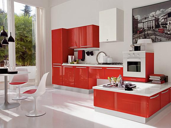 In cucina con arredissima per un san valentino goloso for Cucine rosse
