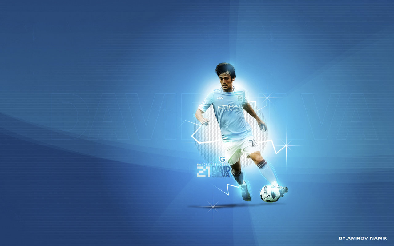 Football Wallpapers: David Silva Wallpaper