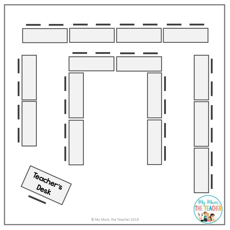 Horseshoe Classroom Design Advantages And Disadvantages ~ My mum the teacher teaching setting up your classroom