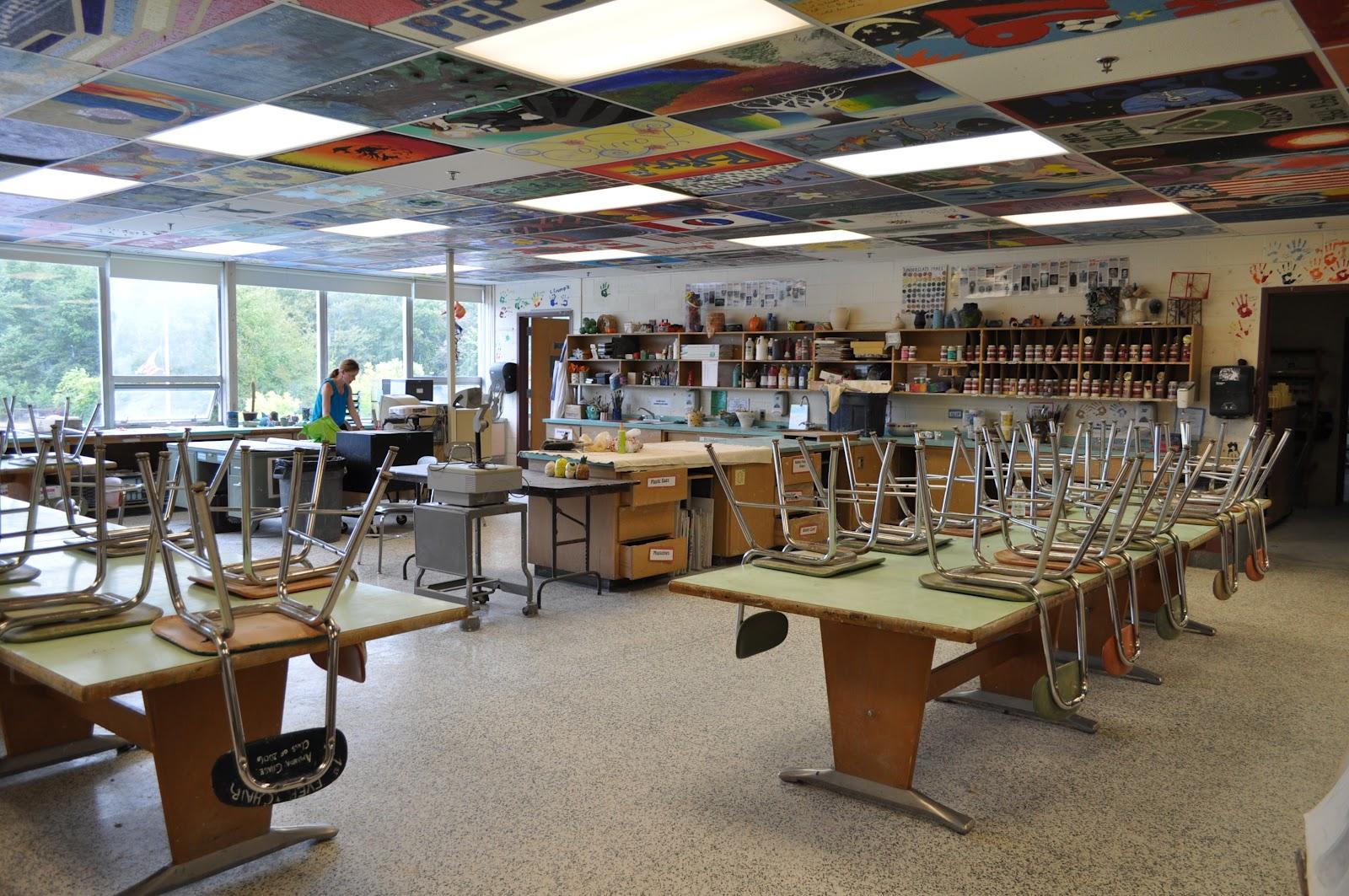 High School Art Classroom Design ~ Jil s practicum seminar going back to high school