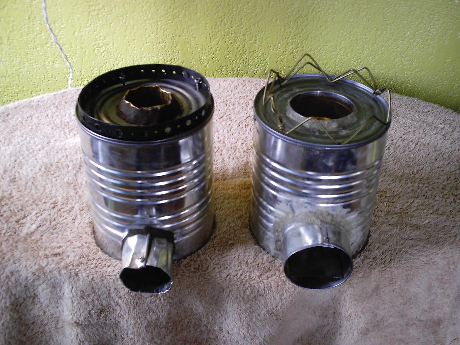 Dituttounpo la rocket stove ovvero una stufa fai da te self made per cucinare come - Stufa a pellet per cucinare ...