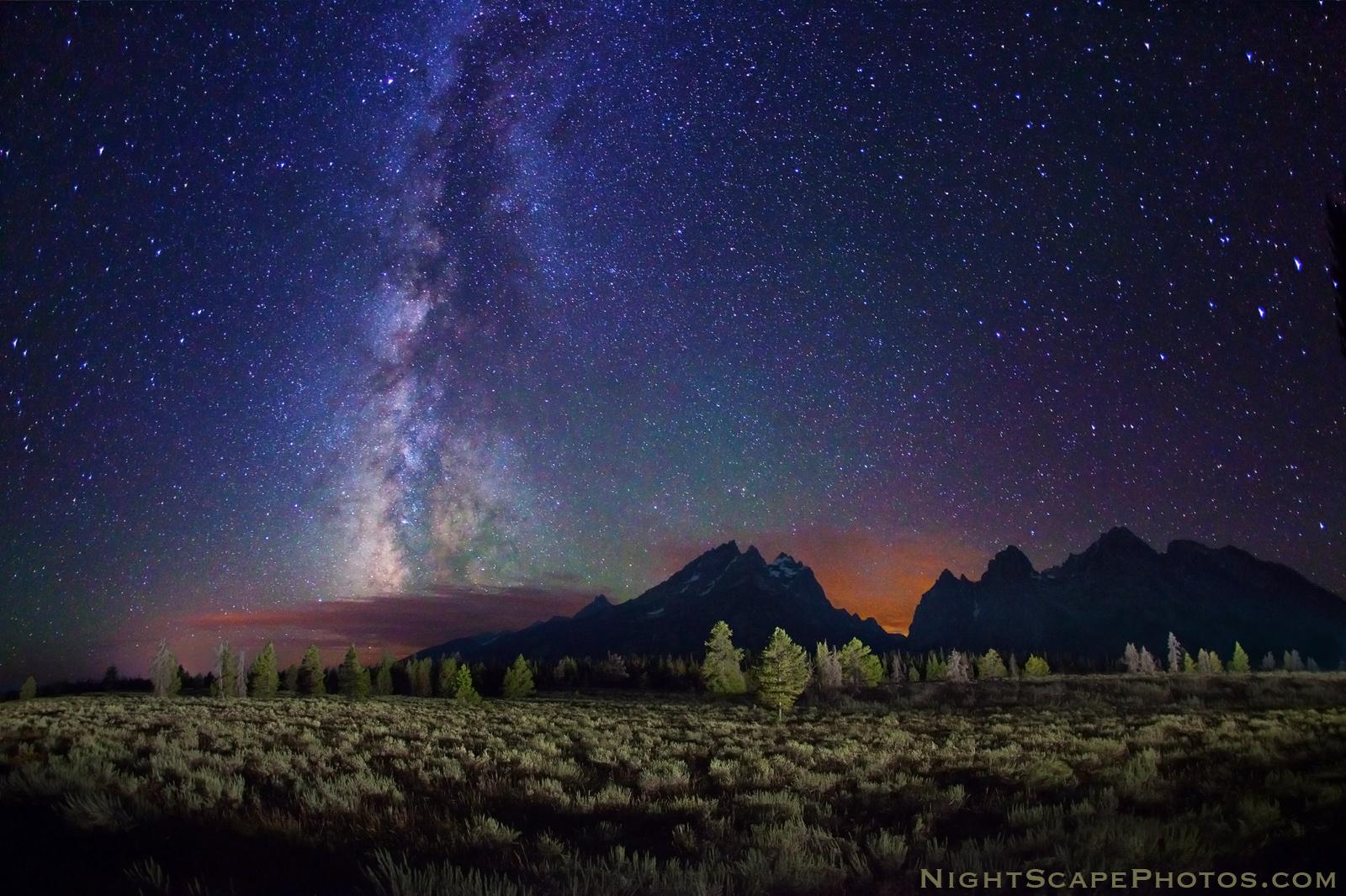 stars mountain night - photo #32
