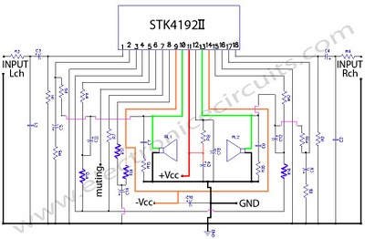 Electronic schematic diagram wiring diagram circuit diagram stk 4192 power amplifier 50 watt stereo circuit schematic diagram asfbconference2016 Gallery