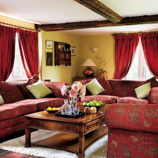Home Interior Design Juli 2011: New Home Interior Design: 10 Cosy Living Room Ideas