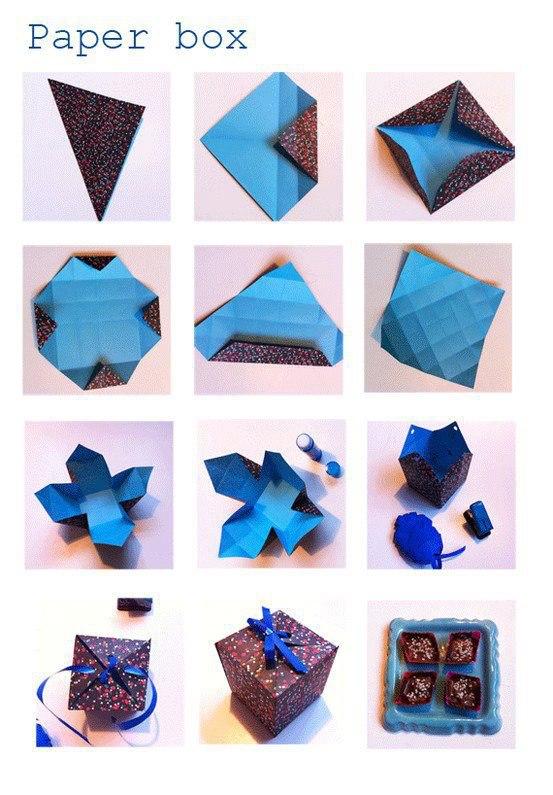 DIY Paper Box - DIY Craft Projects