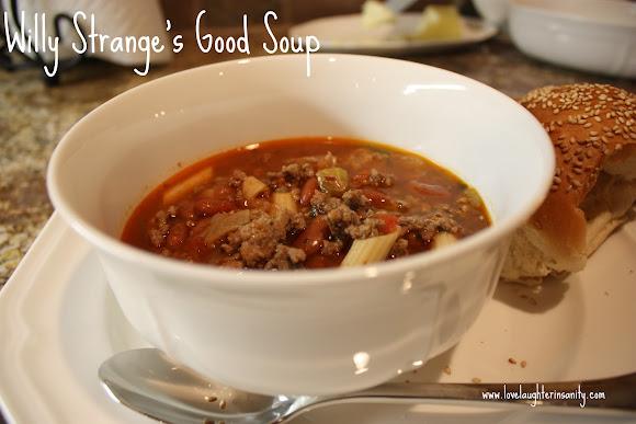 Willy Strange Soup – Fall Festival Recipe Exchange