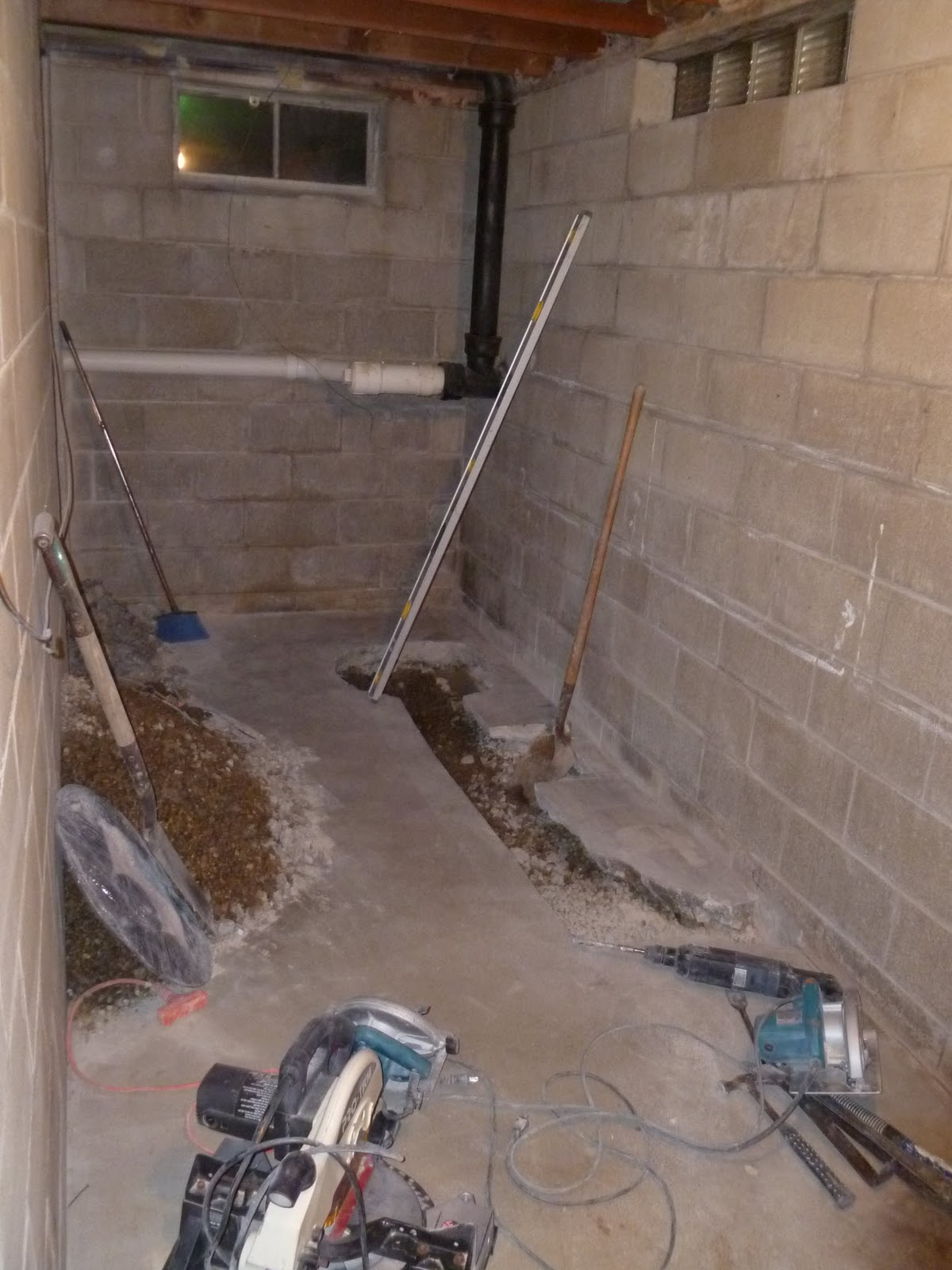 Three Things Very Dull Indeed Basement Bathroom Project