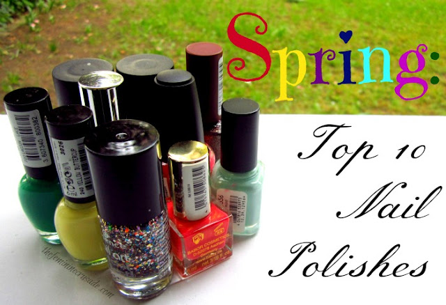 Picture of My Top 10 Nail Polishes for Spring