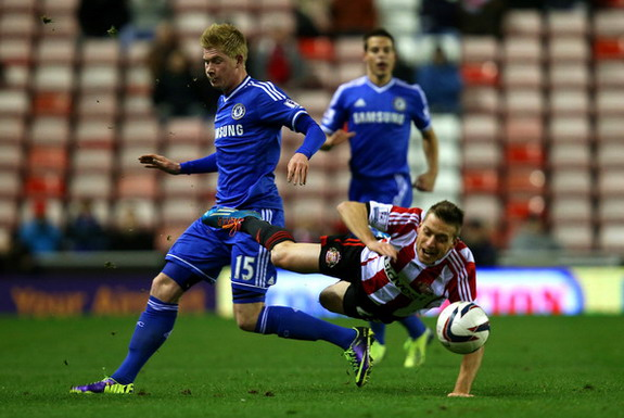 Kevin De Bruyne made his final Chelsea appearance in a match at Sunderland last month