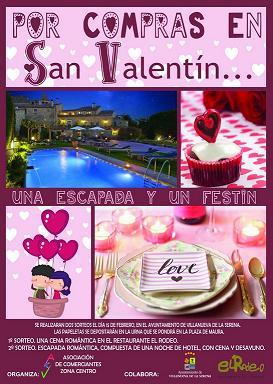 Sorteo de San Valentín