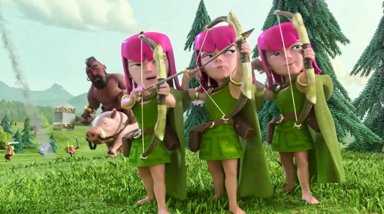 download clash of clans versi terbaru mod apk