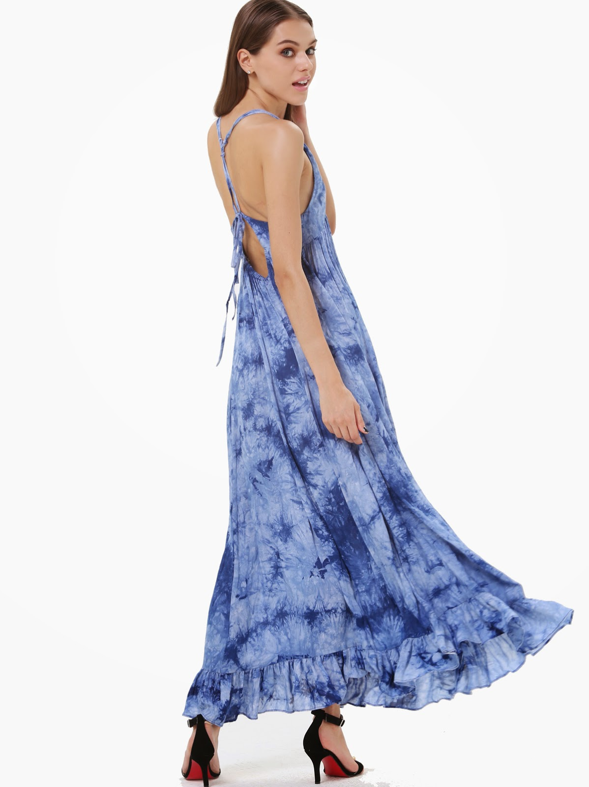Yazlık Maxi Elbise Kombinleri