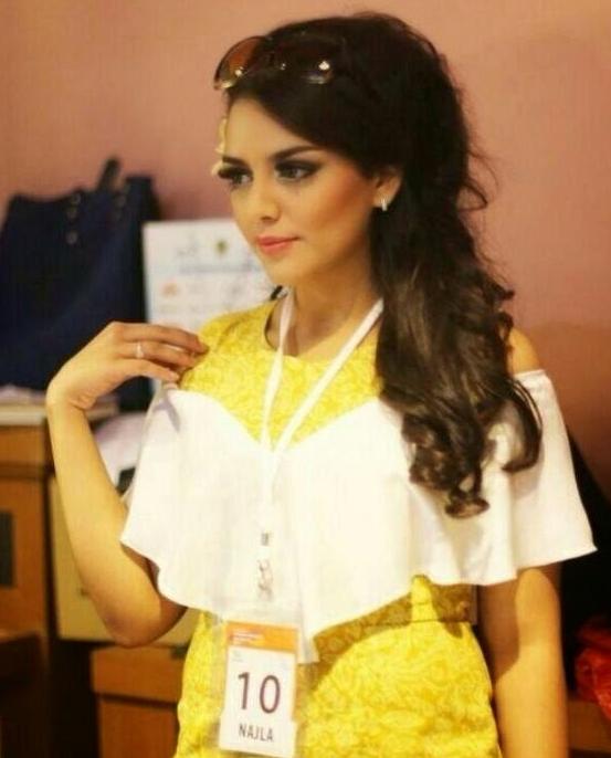 Najla Hilabi, Gadis Cantik yang Magang di Kantor Ahok