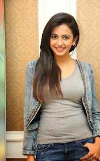 Rakul Preet Singh Pictures in Jeans at Rough Movie Success Meet ~ Celebs Next