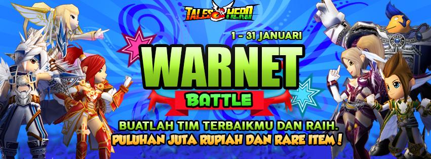 Daftar Tim Tales Hero Warnet Battle Gemscool