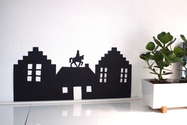 Sinterklaas silhouette