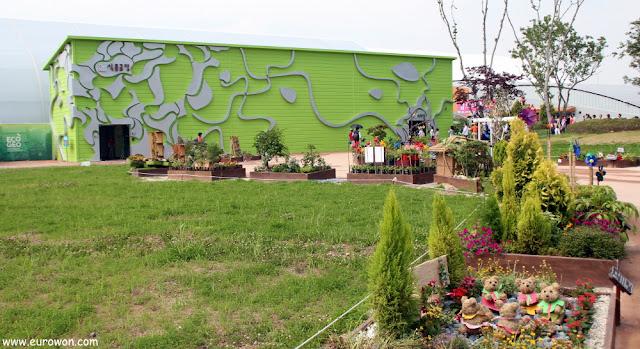 Pabellón de cultivos interiores en la Expo de Suncheonman