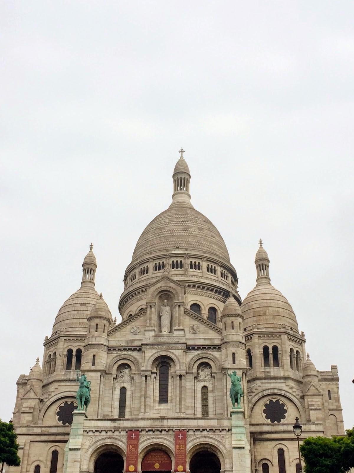 Sacré-Coeur facade