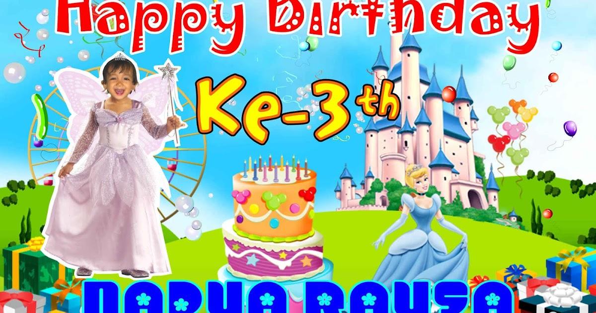 ulang tahun cinderella