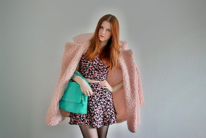 česká blogerka, aberdeen, scottish blogger, pink fur