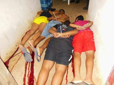 CHACINA: QUATRO PESSOAS SÃO AMARRADAS E EXECUTADAS NO DISTRITO DE APRAZÍVEL EM SOBRAL