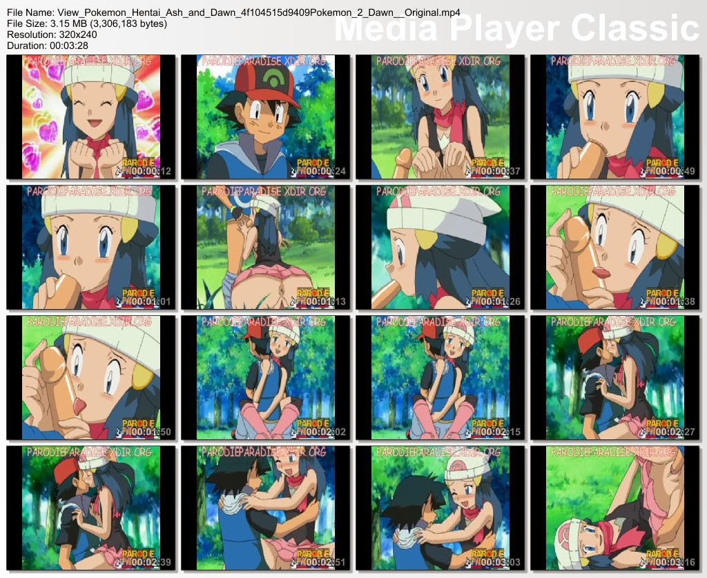 View Pokemon Hentai Ash And Dawn F D Original
