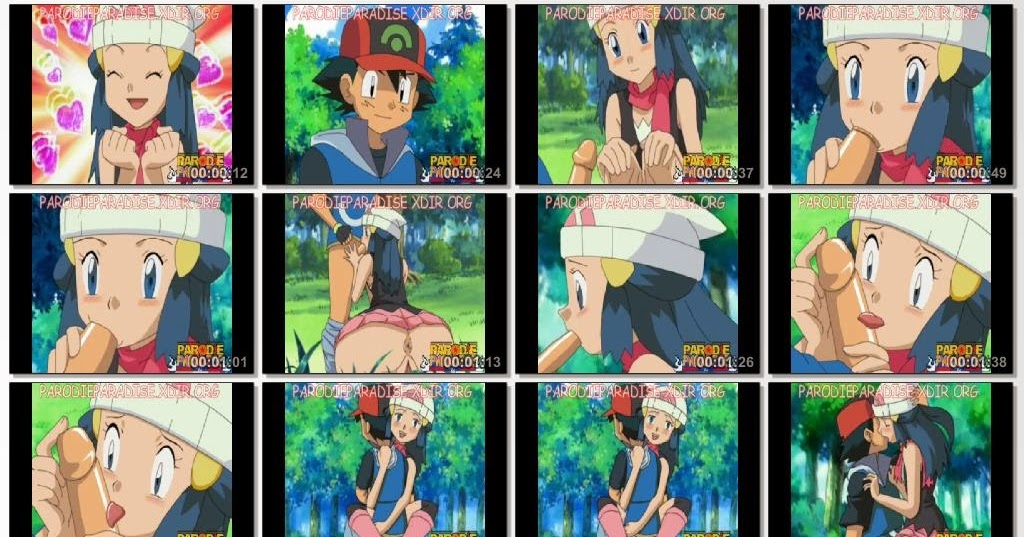 Pokemon Hentai Ash and Dawn ~ Hentai anime