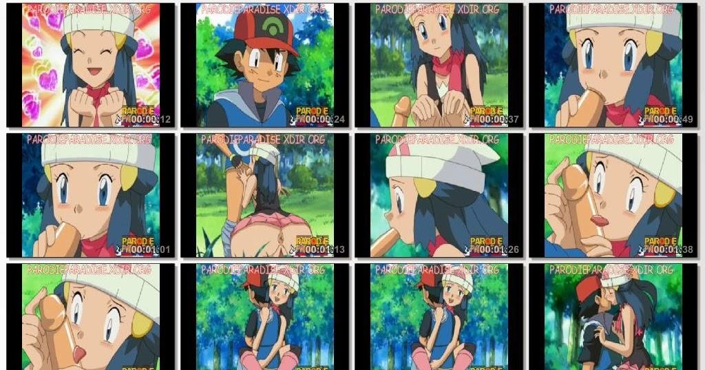 Pokemon Hentai Ash and Dawn ~ Hentai anime