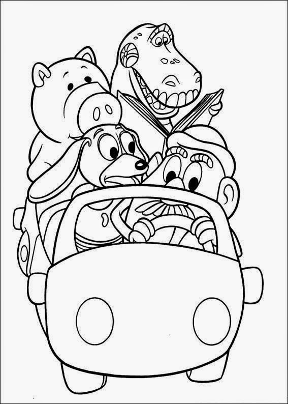 toy story coloring pages - kids page printable toy story coloring page