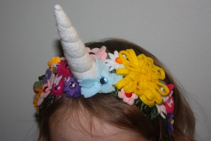 So I was looking for unicorn horns online because that?s what I do ...