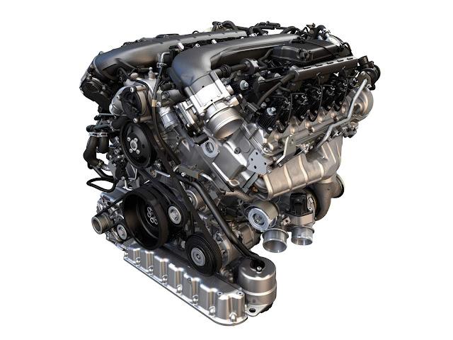Motor VW W12 6.0 TSFI