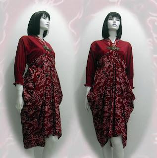 model baju batik pekalongan terbaru 2012