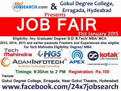 Freshers Walk-Ins In February 2015