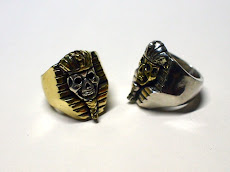 PHARAOH SKULL RING