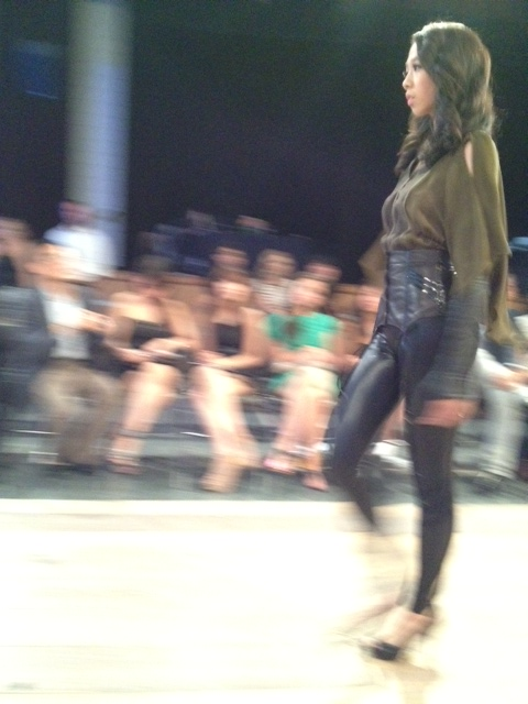 Jessica Huang first out, millitary meets 50's house wife, Vancouver Fashion Week, VFW, SS 2013, Vancouver, Fashion, Style