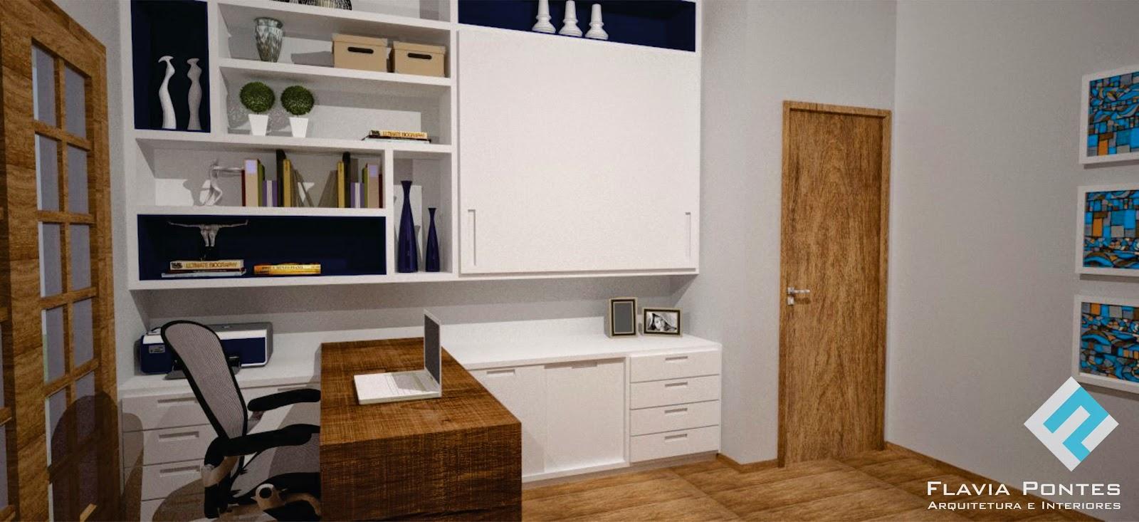 Home Office E Quarto De Visita Redival Com ~ Quarto De Hospede E Escritorio No Mesmo Ambiente