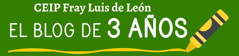 1º de E. Infantil del Fray Luis