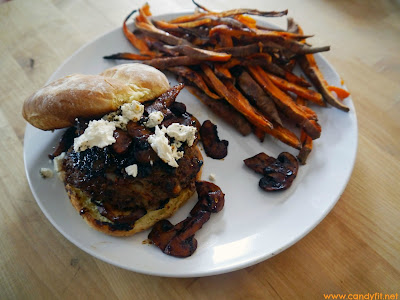 how to make bison burgers in the oven