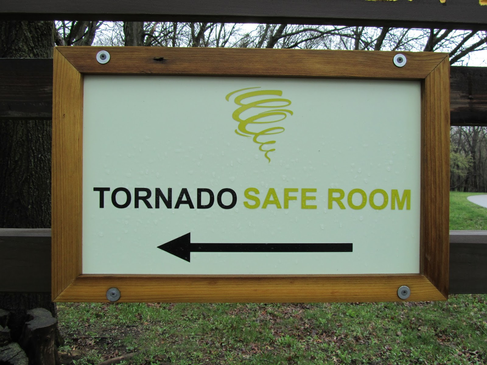 Beans and i on the loose tornado safe room for Buy safe room